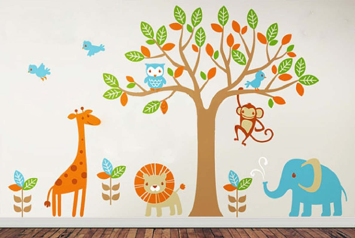 ... Amazing Wall Stickers For Kids Bedrooms Ideas Part 76