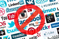 Pas de réseaux sociaux