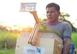 lampe végétale de L'UTEC