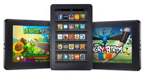 tablette Fire d'Amazon