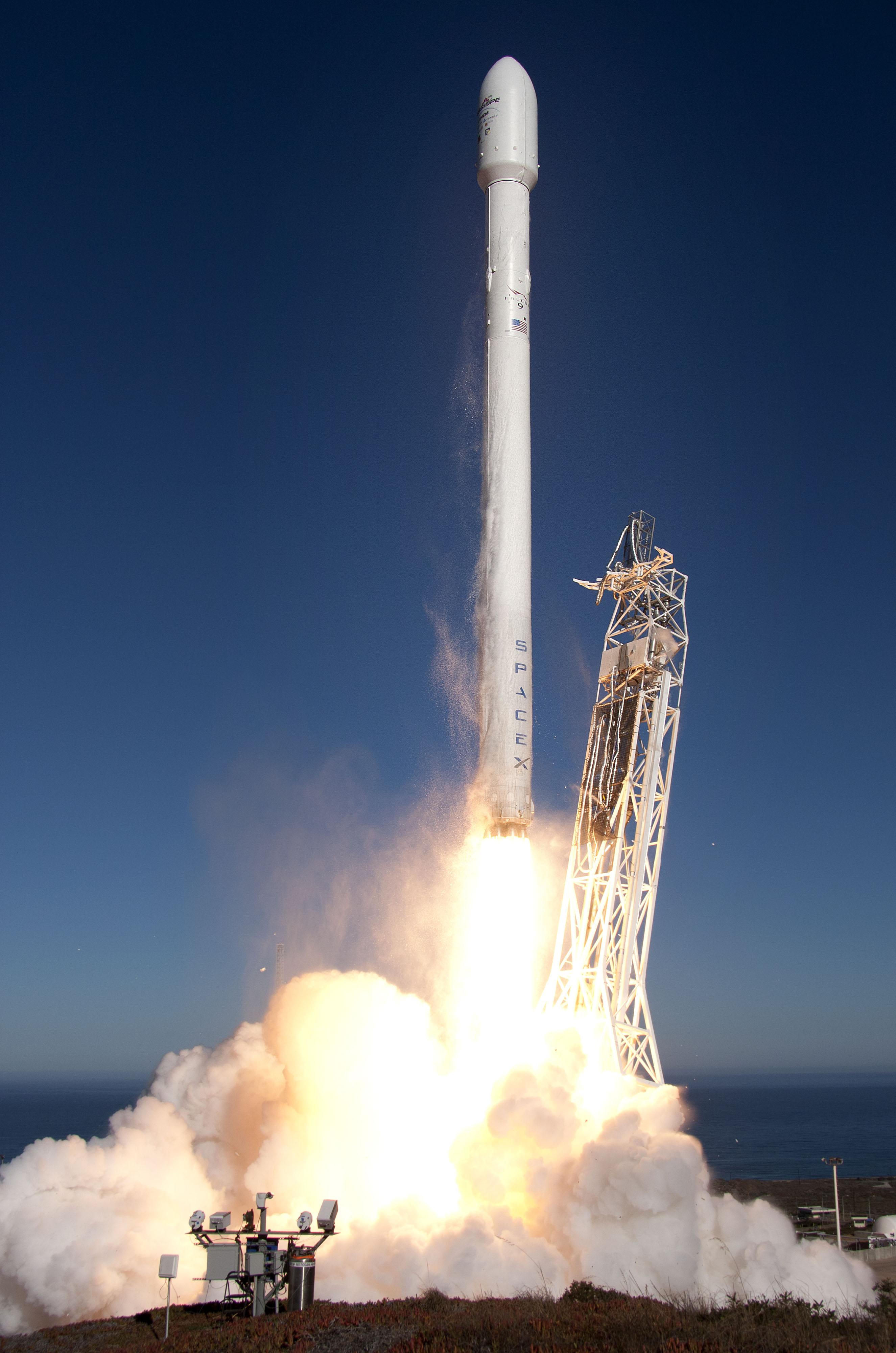 Le succès de SpaceX face à son pari