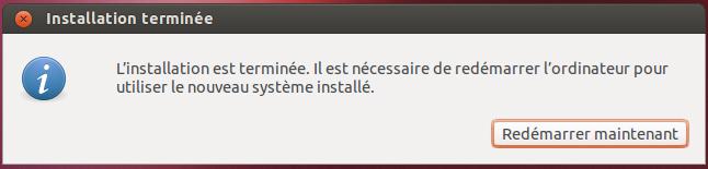 Ubuntu Redémarrer maintenant