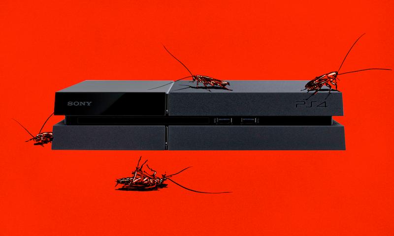 PS4 cafard