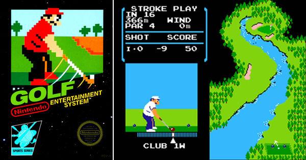 nes golf