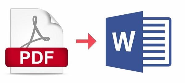 comment convertir un fichier pdf en word