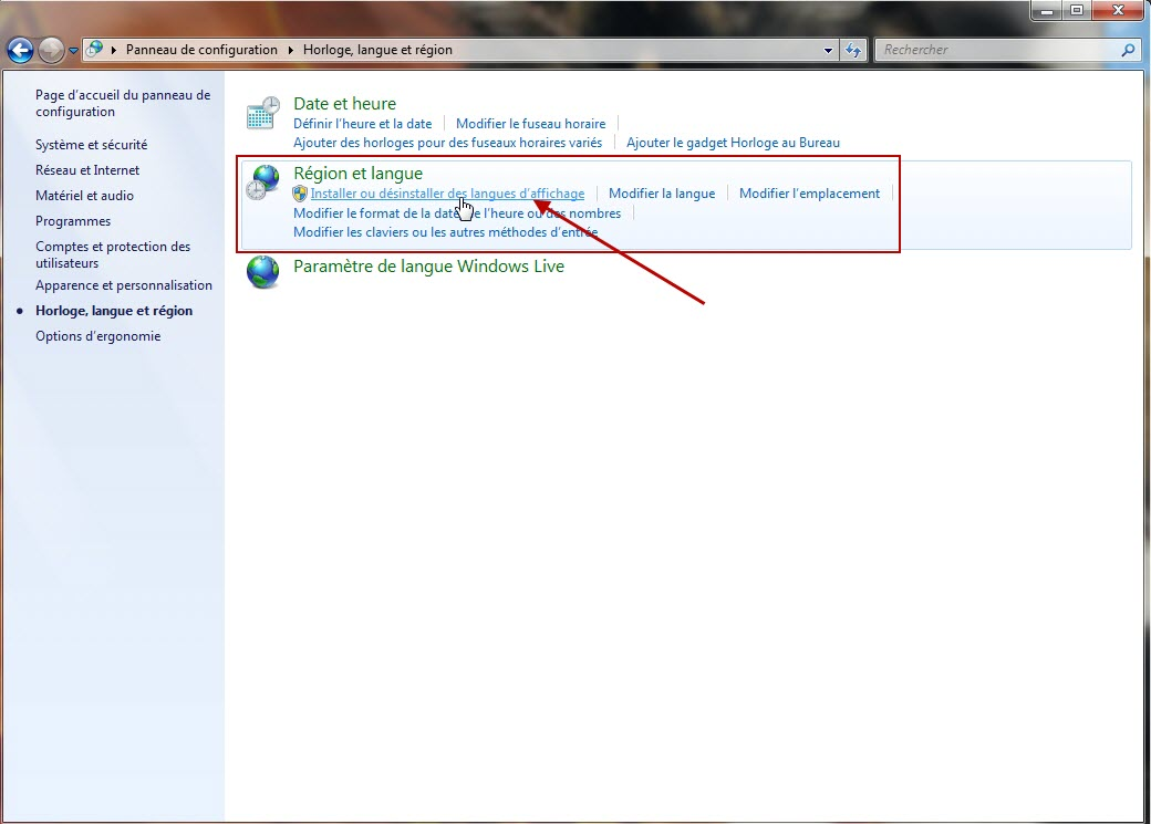 comment changer la langue de windows 7  8 et 10