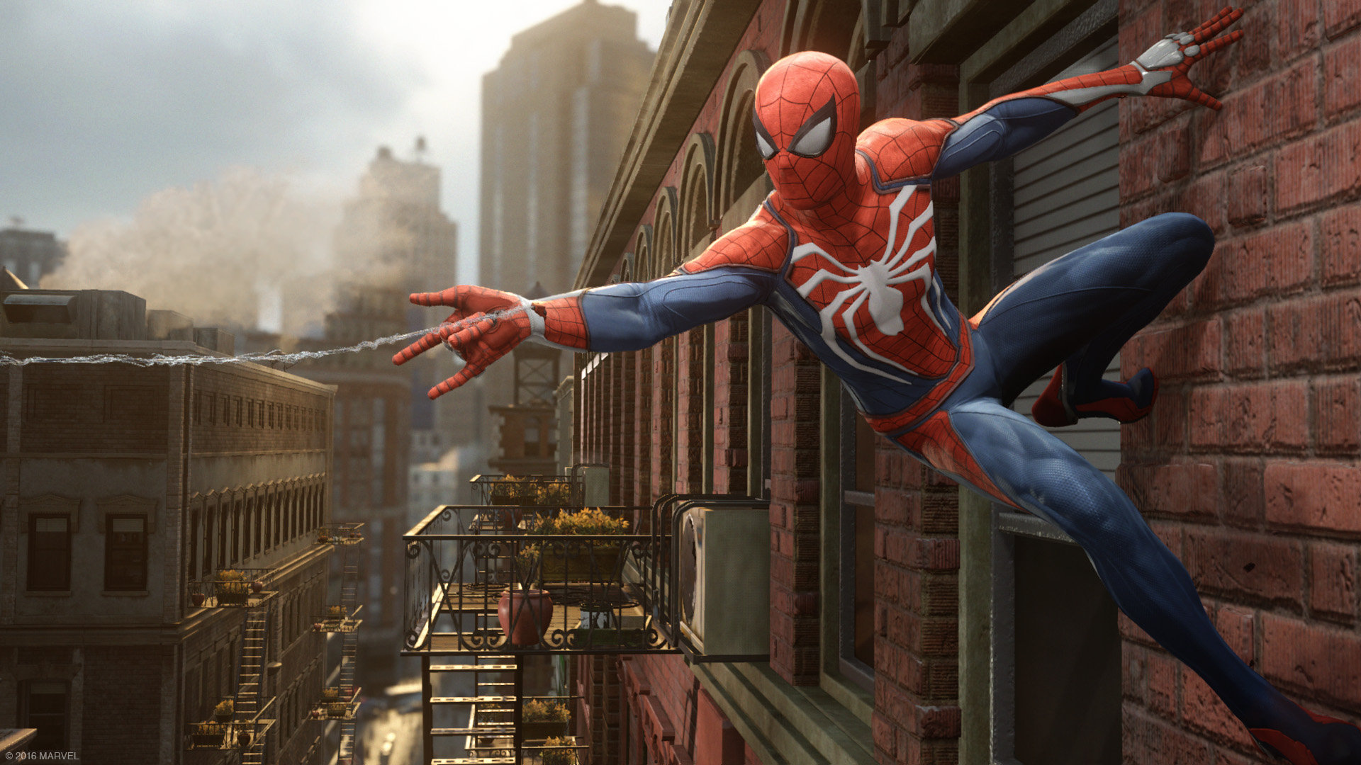 Spiderman sur PS4