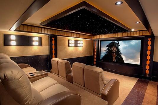 salle de cinéma personnelle