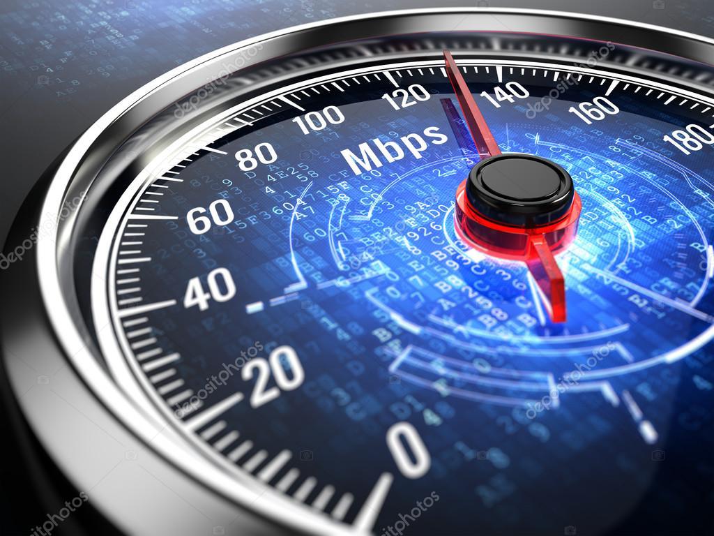 vitesse de connexion