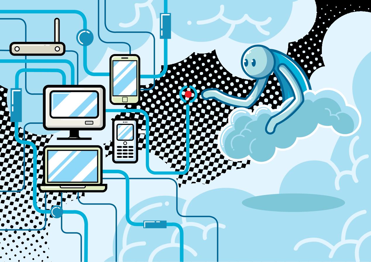 illustration d'un VPN