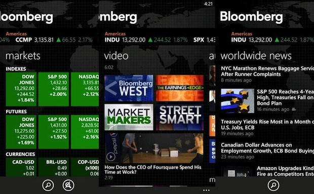 bloomberg mobile