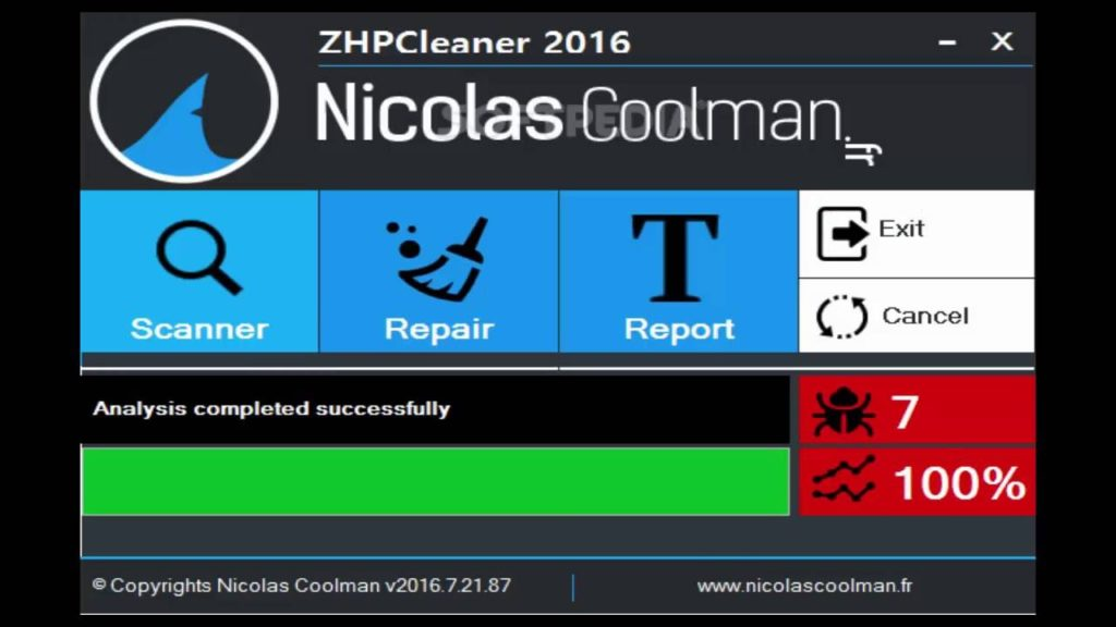 TÉLÉCHARGER ZHPCLEANER NICOLAS