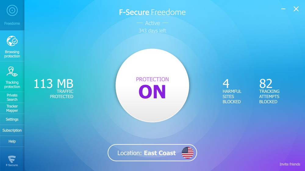 VPN F-Secure Freedome