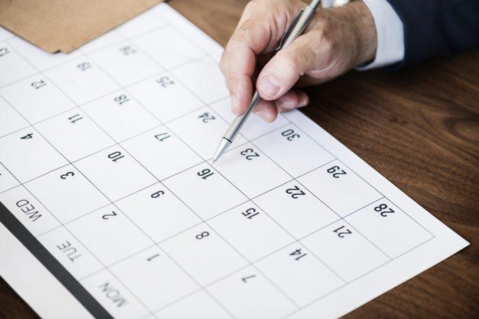 calendrier pro