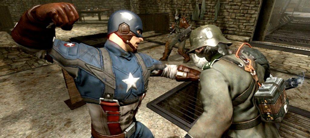 jeu vidéo Captain America
