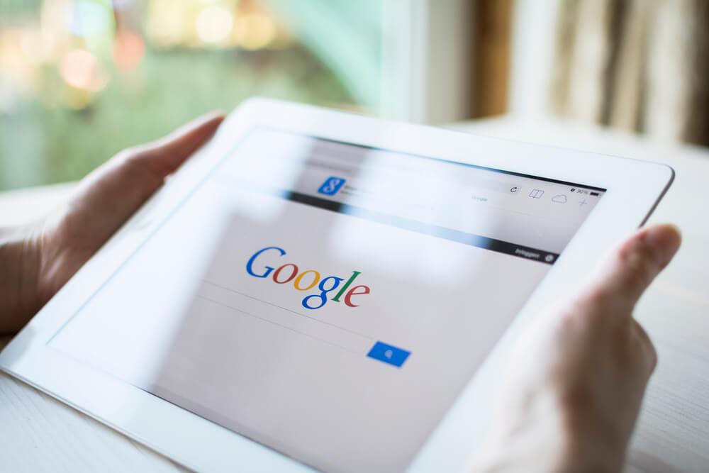 tablette avec Google