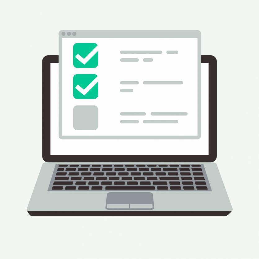 ordinateur checklist