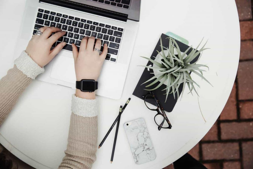 travailler en ligne