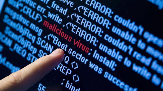 illustration d'un malware
