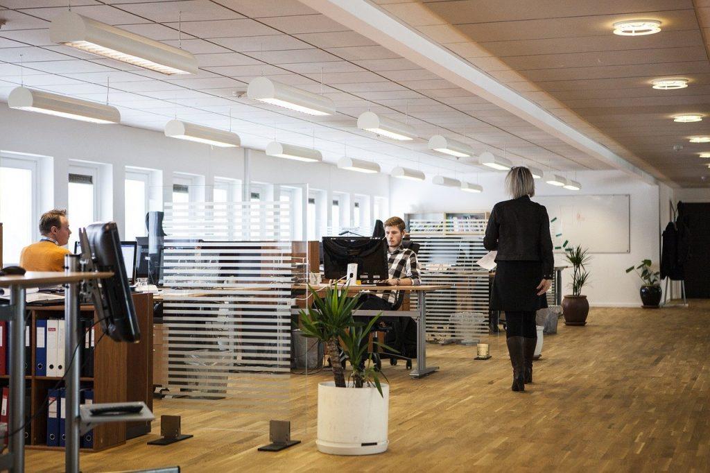 bureaux d'une entreprise